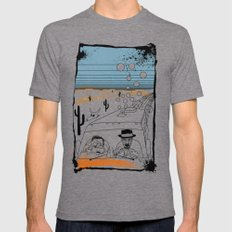 Fear and Loathing in Albuquerque II Mens Fitted Tee Tri-Grey SMALL