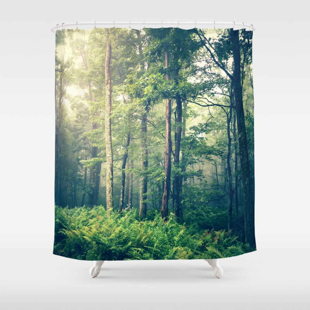 popular grey shower curtains society6