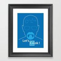 Let's Cook Framed Art Print