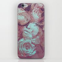 Rose's Eye iPhone & iPod Skin