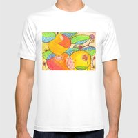 Big Citrus Mens Fitted Tee White SMALL