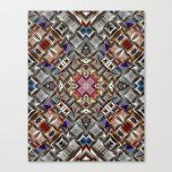 Abstract Geometric Surfa… Canvas Print