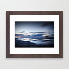 Edge Of Darkness Framed Art Print