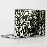 sexy Laptop & iPad Skins featuring Skull by Ali GULEC