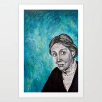 A Room Of One's Own {Woo… Art Print