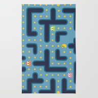 Rug featuring Pacman by Studio VII