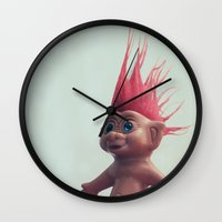 troll Wall Clock