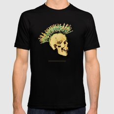 MENTAL HEALTH - 025 Mens Fitted Tee Black SMALL