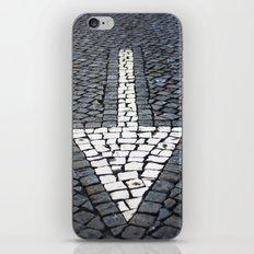 street arrow iPhone & iPod Skin