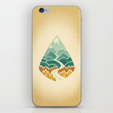 The Road Goes Ever On: Autumn iPhone & iPod Skin