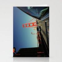 Golden Gate Bridge; Mid-… Stationery Cards