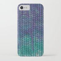 fox iPhone & iPod Cases featuring Fox by Laura Graves