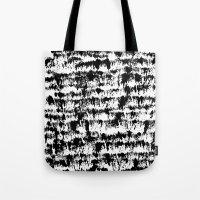 Black Pattern#2 Tote Bag