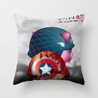 Berto: The Mental-issue … Throw Pillow