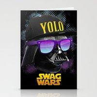 Darth Vader Swag Stationery Cards
