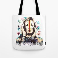 Drips Of Color Tote Bag