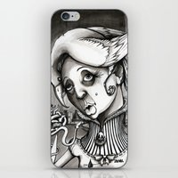 Lady Heartwood iPhone & iPod Skin