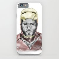 iPhone & iPod Case featuring Iron Man by Kim Jenkins