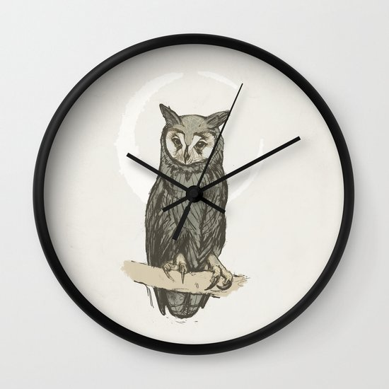 The Watch Keeper Wall Clock