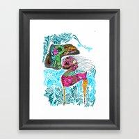 Libre Framed Art Print