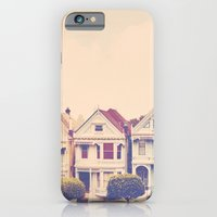 Darling do come see us! San Francisco Painted Ladies photograph iPhone 6 Slim Case