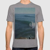kelly slater Mens Fitted Tee Athletic Grey SMALL