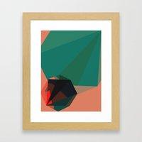 Shape Play 1 Framed Art Print