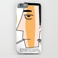 iPhone & iPod Case featuring Cigarettes by Brian Sisson