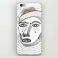 Crying Face iPhone & iPod Skin