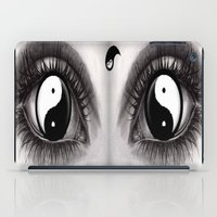 7 Eye Collection: Yin Yang In Your Eyes iPad Case