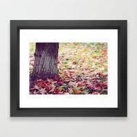 Autumn Is A Second Sprin… Framed Art Print