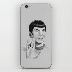 Spock Portrait Star Trek iPhone & iPod Skin