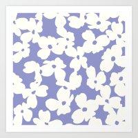 Dogwood: Lilac Tulip Art Print