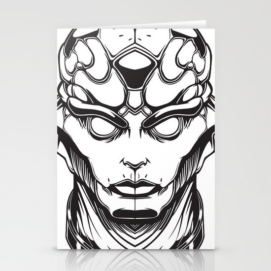Mass Effect. Thane Stationery Card