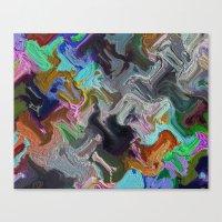 Hammer Rain Canvas Print
