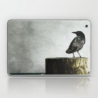 Crow At Sea Laptop & iPad Skin