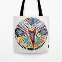 Tribal Folk Icon Tote Bag