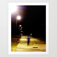 Sidewalk 2 Art Print
