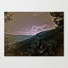 Window Into Canvas Print