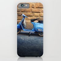 iPhone & iPod Case featuring Blue Vespa, Italy by James Arnold