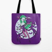 The Vampire Queen Tote Bag