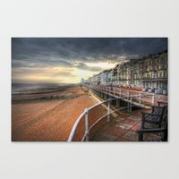 Hastings At Sunset Canvas Print