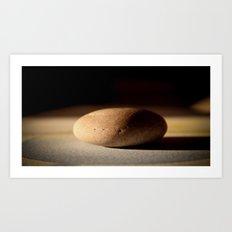 Pebble Art Print