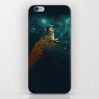 Catstronaut iPhone & iPod Skin