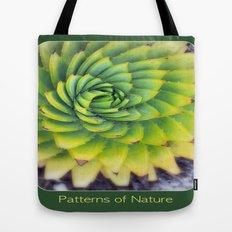 Patterns of Nature - succulent I Tote Bag