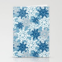 Starboard - steering wheel Stationery Cards