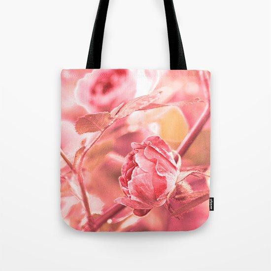 Vintage rose. Tote Bag