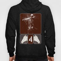 then I heard what sounded like a voice among the four living creatures Hoody