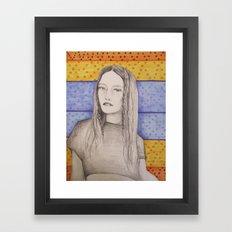 braided  Framed Art Print