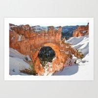 Natural Bridge - Bryce Canyon Art Print